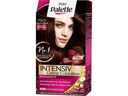 Schwarzkopf POLY PALETTE Intensiv Creme Coloration 790 Dunkles Rot Braun