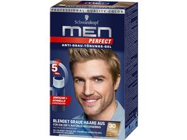Schwarzkopf MEN PERFECT Toenungs Gel 30 Natur Mittelblond