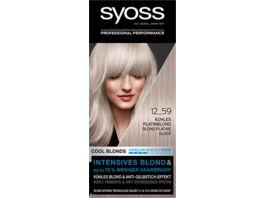 syoss Cool Blonds 12 59 Kuehles Platinblond