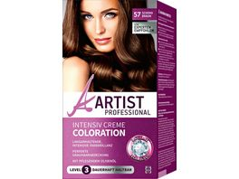 ARTIST Professional Intensiv Creme Coloration schokobraun 57