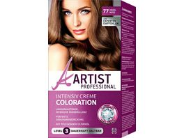 ARTIST Professional Intensiv Creme Coloration haselnuss 77