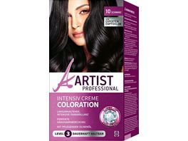 ARTIST Professional Intensiv Creme Coloration schwarz 10