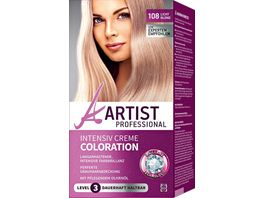 ARTIST Professional Intensiv Creme Coloration lichtblond 108