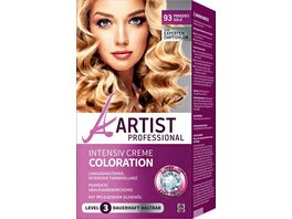 ARTIST Professional Intensiv Creme Coloration paradies gold 93
