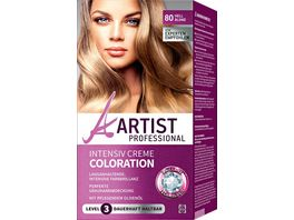 ARTIST Professional Intensiv Creme Coloration hellblond 80