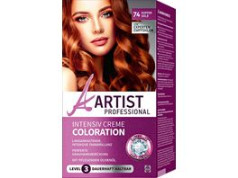 ARTIST Professional Intensiv Creme Coloration kupfergold 74