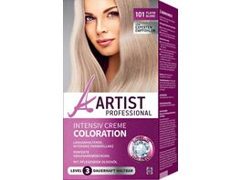 ARTIST Professional Intensiv Creme Coloration platinblond 101