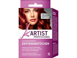 ARTIST Professional Haarfarbentfernertuecher