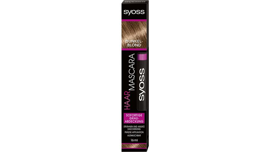 syoss Haar Mascara Coloration Dunkelblond