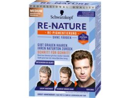 Schwarzkopf RE NATURE Re Pigmentierung Maenner Medium Stufe 0