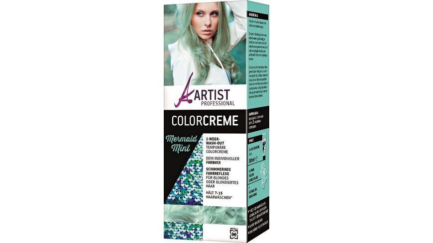 ARTIST Professional Colorcreme Mint Mermaid