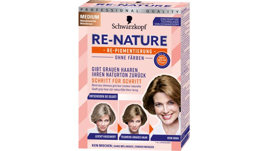 Schwarzkopf RE NATURE Re Pigmentierung Frauen Medium