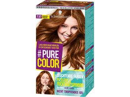 Schwarzkopf PURE COLOR Coloration 7 57 Karamell Krokant