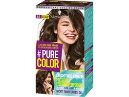 Schwarzkopf PURE COLOR Coloration 6 0 Cappuccino Hellbraun
