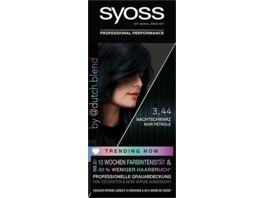 syoss Coloration 3 44 Nachtschwarz Trending Now