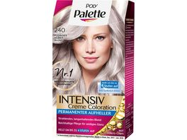 Schwarzkopf POLY PALETTE Intensiv Creme Coloration 240 Pudriges Silberblond