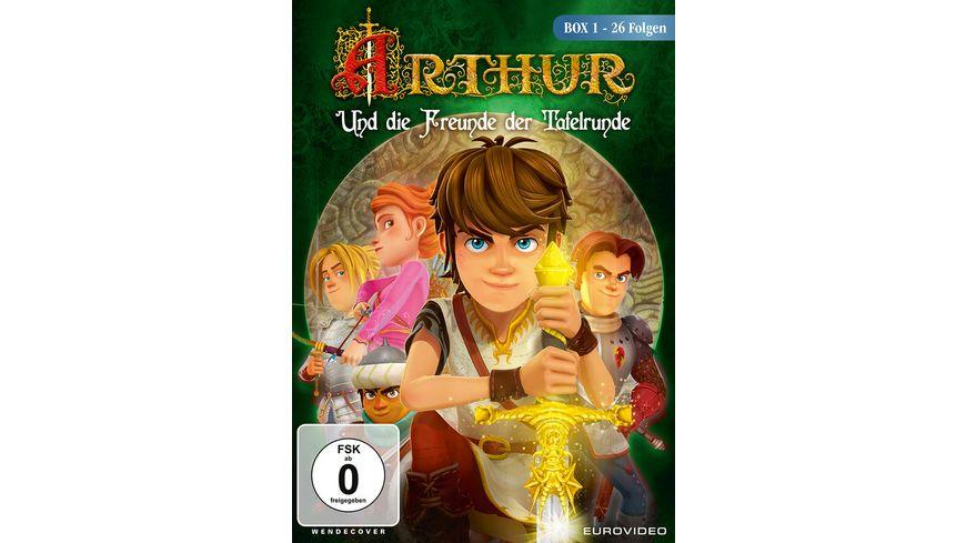 Arthur und die Freunde der Tafelrunde Box 1 mit 26 Folgen 2 DVDs