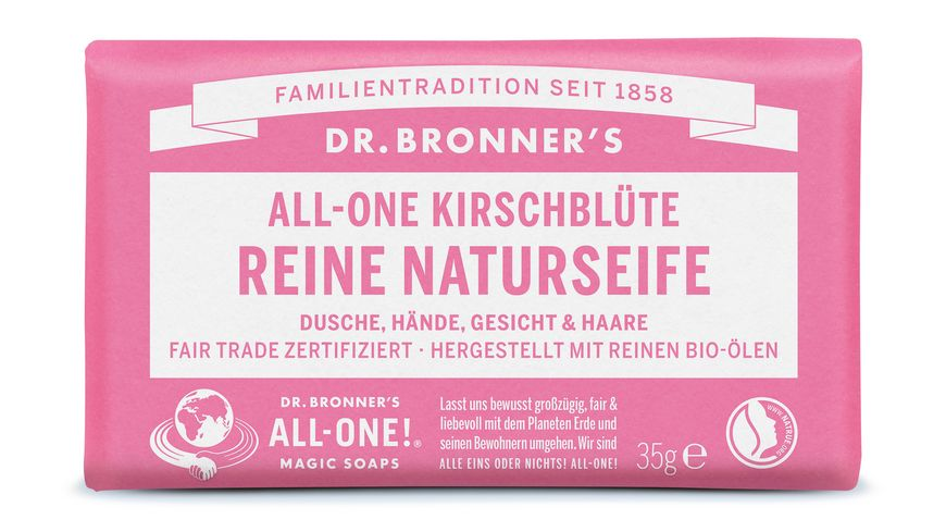 DR BRONNER S Seife Kirschbluete