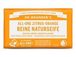 DR BRONNER S Seife Zitrus Orange