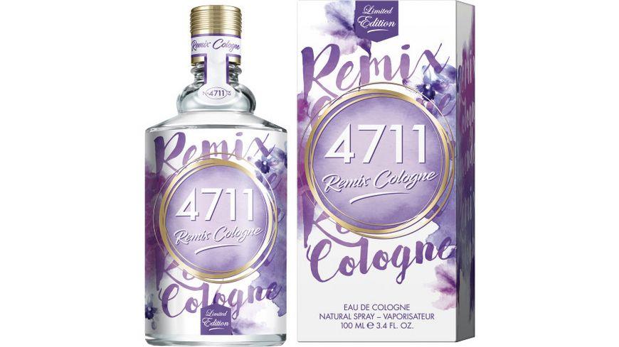4711 Remix Cologne Lavendel Eau de Cologne Natural Spray