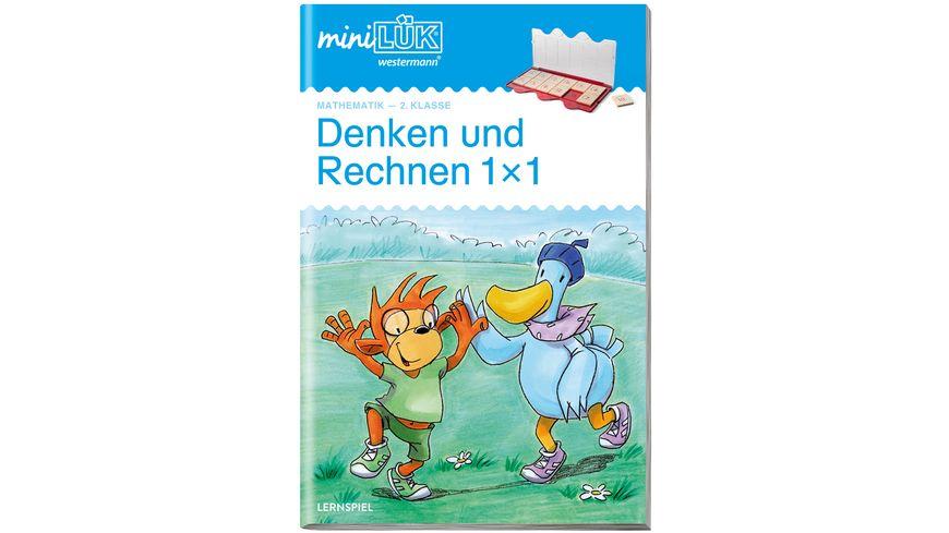 miniLUeK Mathematik 2 Klasse Mathematik Denken und Rechnen 1 x 1 Uebungen angelehnt an das Lehrwerk
