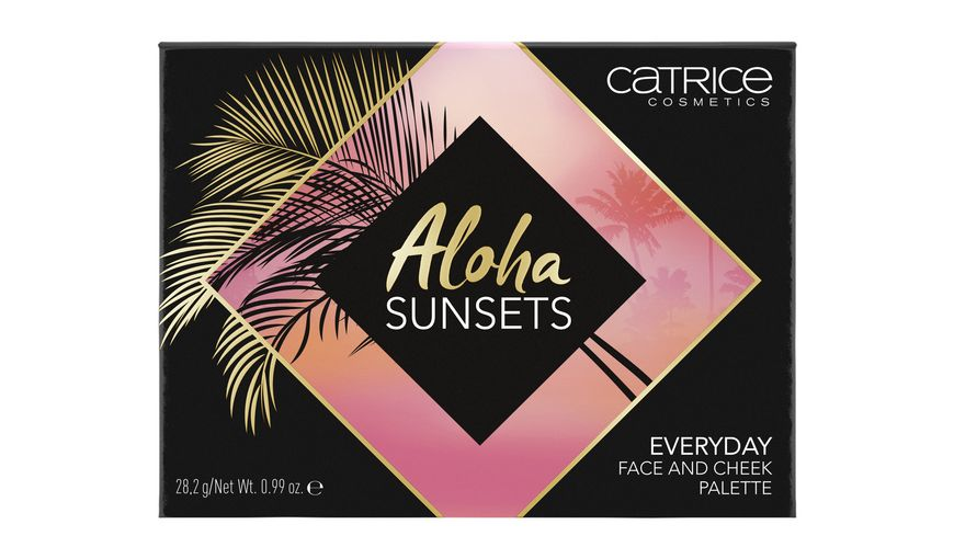 Catrice Aloha Sunsets Everyday Face And Cheek Palette