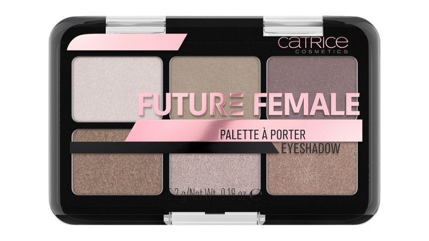Catrice Future Female Palette A Porter Eyeshadow Afraid Of Nothing