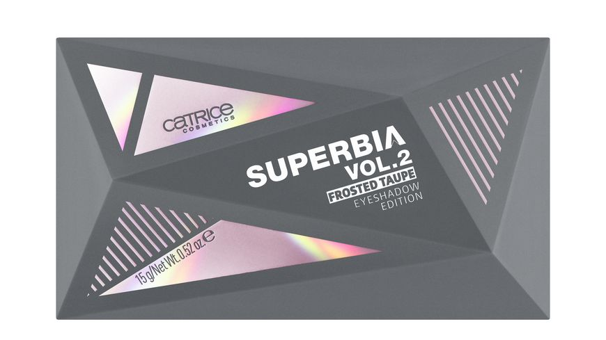 Catrice Superbia Vol 2 Frosted Taupe Eyeshadow Edition I Cy Fire