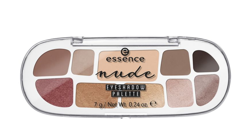 essence nude eyeshadow palette