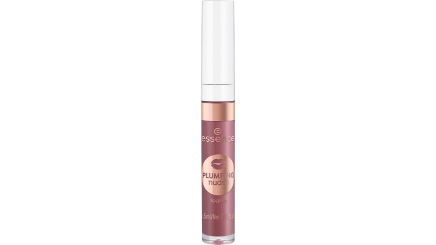 essence plumping nudes lipgloss