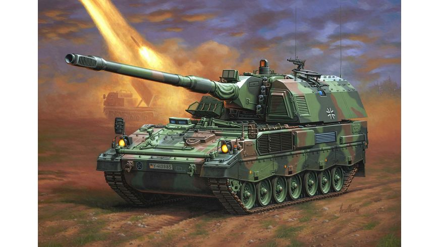 Revell 03279 Panzerhaubitze 2000 Massstab 1 35