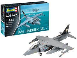 Revell 03887 Bae Harrier GR 7 Massstab 1 144