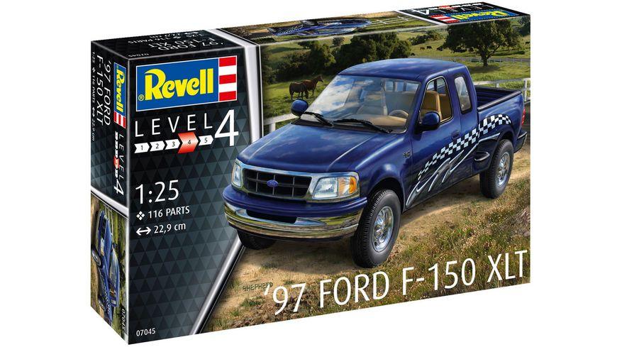 Revell 67045 Model Set 1997 Ford F 150 XLT Massstab 1 25