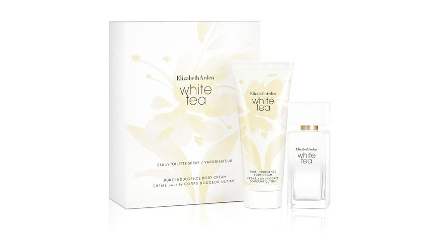 Elizabeth Arden White Tea Set