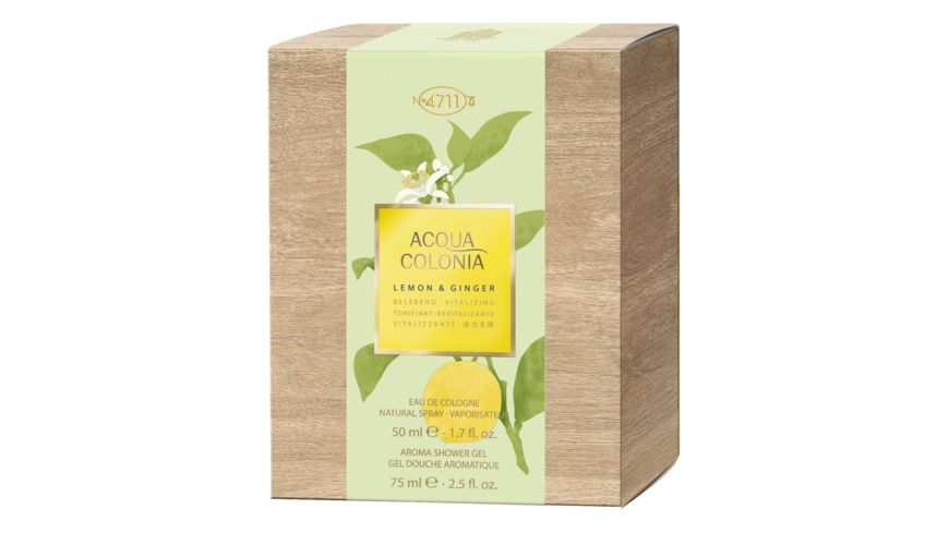 4711 Acqua Colonia Lemon Ginger Duo Set Eau de Cologne
