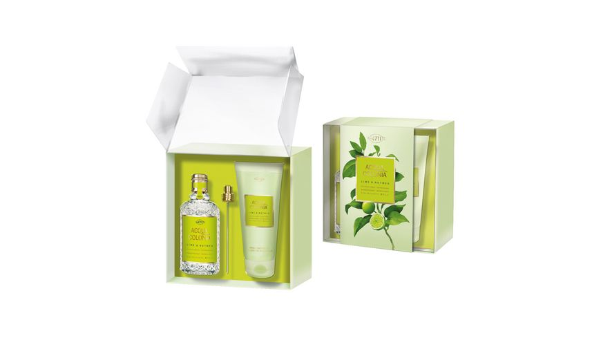 4711 ACQUA COLONIA Lime Nutmeg Duo Set Eau de Cologne