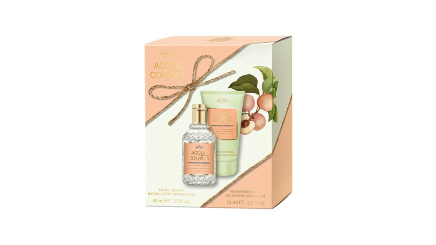 4711 ACQUA COLONIA White Peach Coriander Duo Set Eau de Cologne