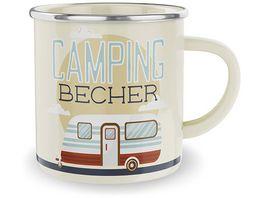 Geschenk fuer Dich Emaillebecher Camping