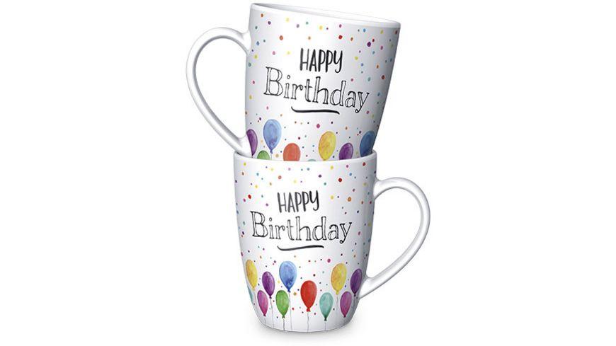 Geschenk fuer Dich Becher Happy Birthday 0 25 l