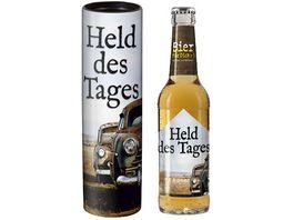 Geschenk fuer Dich Bier 0 33 l Held