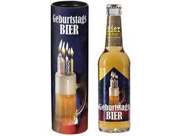 Geschenk fuer Dich Bier 0 33 l Geburtstags Bier