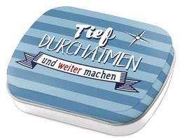 Geschenk fuer Dich Mints Durchatmen