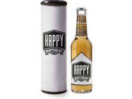 Geschenk fuer Dich Bier 0 33 l Happy Birthday