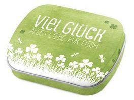 Geschenk fuer Dich Mints Viel Glueck