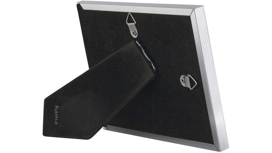 Hama Portraetrahmen Davos Silber 10 x 15 cm