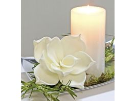 Casablanca Foam Flower Modern 20cm