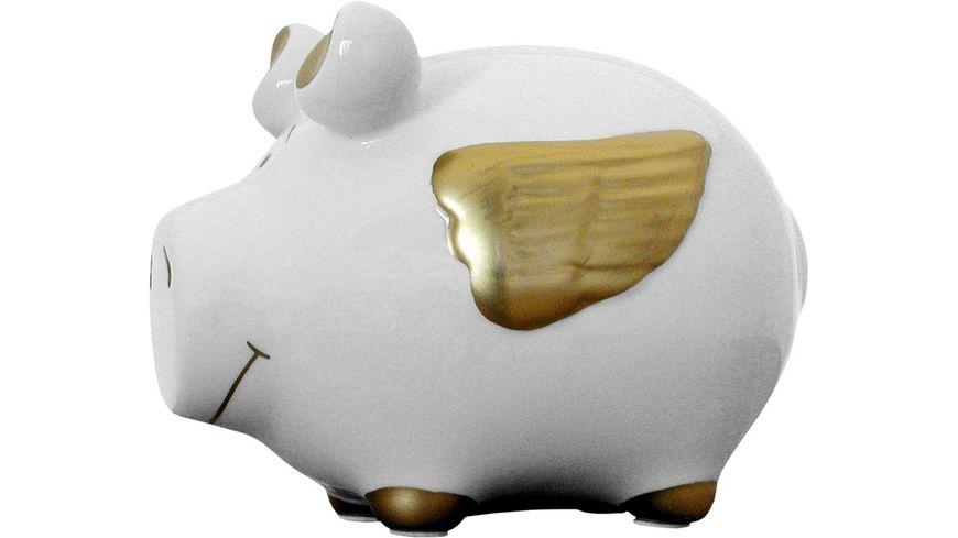 KCG Sparschwein Engelschwein gold
