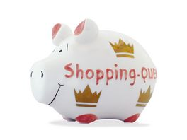 KCG Sparschwein Shopping Queen