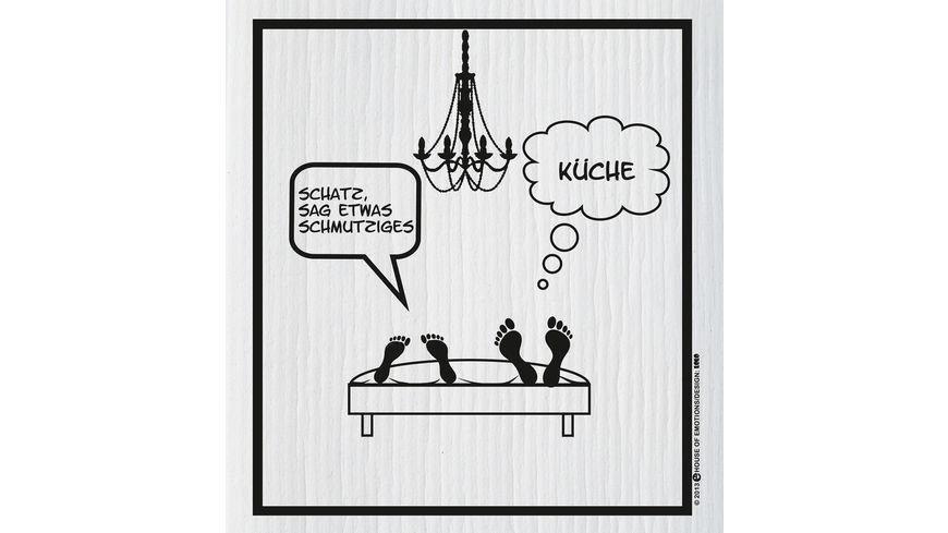 HOUSE OF EMOTIONS Spuellappen Etwas Schmutz