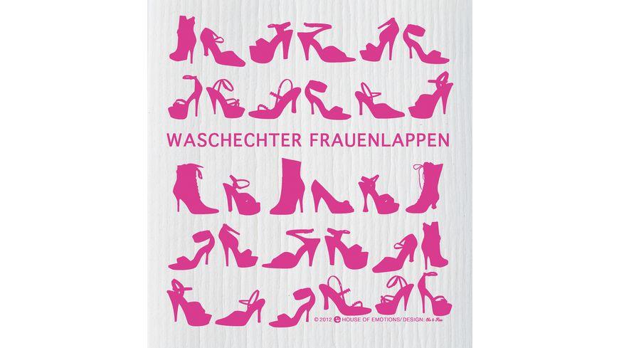 HOUSE OF EMOTIONS Spuellappen Frauenlappen